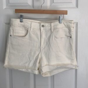 Pilcro & the Letterpress  |  Mid Rise Slim Shorts